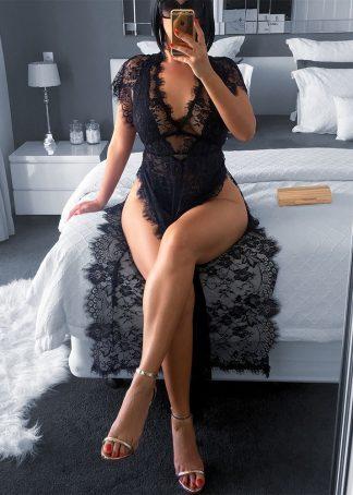 Mantie sexy din dantela