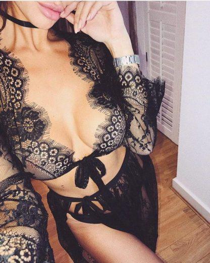 Bolero sexy din dantela
