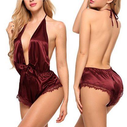 Pijama sexy tip salopeta