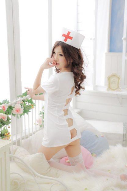 Costum sexy de asistenta medicala