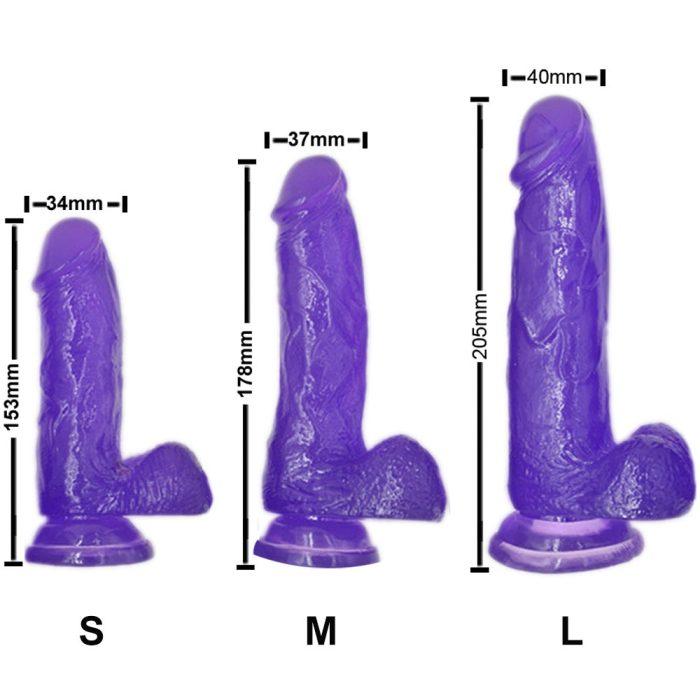 dildo din silicon