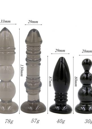 Set dopuri anale 4 piese