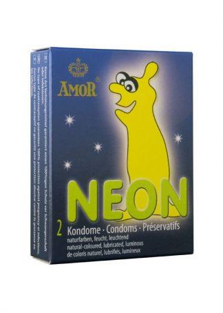 AMOR Prezervative neon sau fosforescente