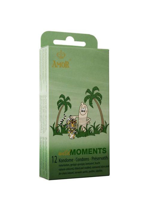 AMOR Prezervative pentru Momente sălbatice