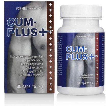 Cum Plus: Potențiator de spermă pe bază de zinc și seleniu, 30 de capsule