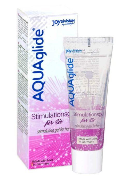 Gel stimulant AQUAglide pentru ea, 25 ml