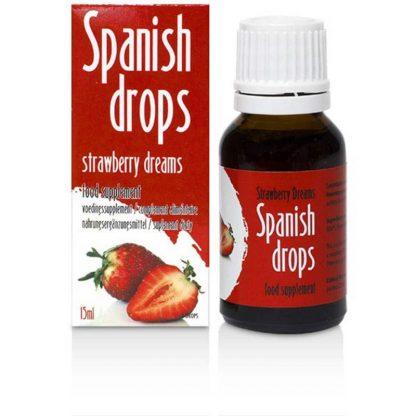 Picături spaniole cu aroma de capsuni