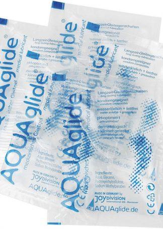 Pliculete de lubrifiant AquaAglide de 3ml