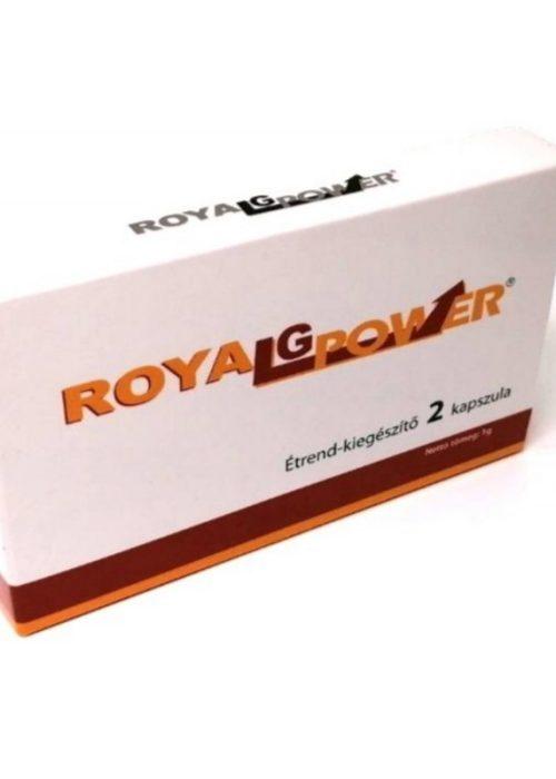 Probleme cu erectia? Te ajuta Royal G Power 2 capsule