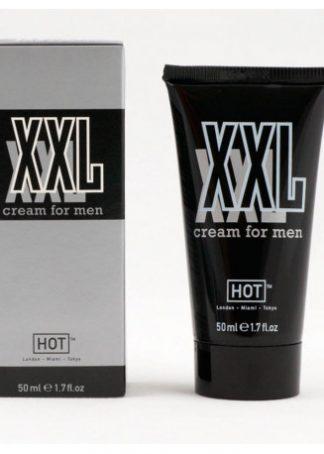 HOT XXL crema pentru barbati 50 ml – pentru un penis mare si gros